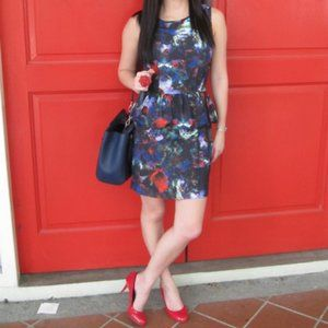 Floral Peplum dress (6)